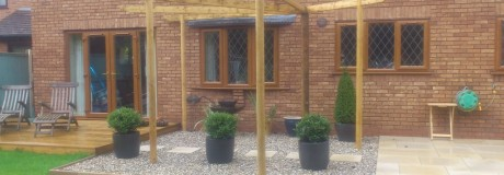 Decking and Patio in Kenilworth (1)