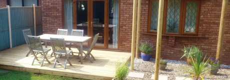 Decking and Patio in Kenilworth (2)