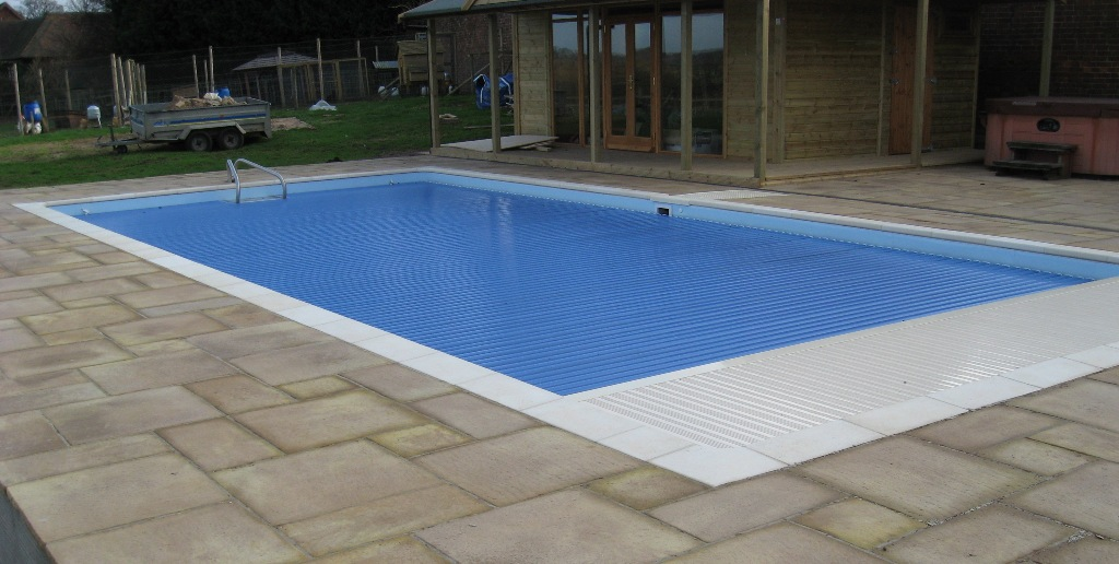 Swimming Pool Patio In Leamington Spa